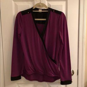 Venus purple blouse size medium